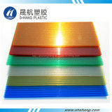 Het berijpte Kleurrijke Holle PolyComité van Plstic van het Carbonaat voor Decoratie