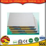 백색 색깔 PVC 코팅 종이 석고 천장 도와