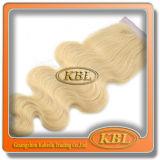 バージンのブラジルの毛の安く長いカーリーヘアーの織り方