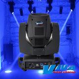 La LED DMX est tête mobile 7R 230W faisceau éclairage de la rondelle de Spotlight