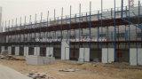 Casa pré-fabricada com quadro de aço claro (modelo novo)