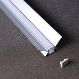 LED 지구 조명 시설을%s Z-4525에 의하여 중단되는 선형 알루미늄 단면도