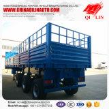 Китая изготовления 40-65t 3 Axle бортовой стены загородки трейлер Semi