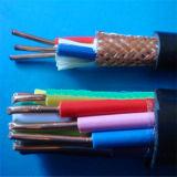 Пвх пламенно гибкий кабель управления