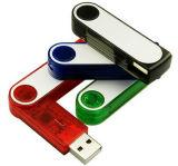 Twister plástico de disco USB con tipos de colores