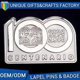 2016 divisas materiales del Pin de metal del nuevo del diseño del recuerdo metal del uso