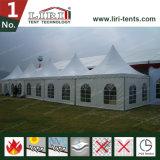 tente en aluminium de luxe de pagoda de chapiteau de 10X10m pour la noce