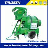 Tipo de talha de balde Máquina de misturar de cimento portátil 0.5-0.75m3 Betoneira
