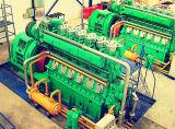 1000 квт-2000квт отходов пластиковые системы утилизации пластиковой пиролиза нефти генераторной установки