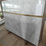 Mattonelle di pavimento Polished Carrara del marmo bianco interno all'ingrosso di Hotsale