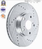Rotors en gros de frein à disque de frein de pièces d'auto de fournisseur de la Chine avec le numéro 1609582880 d'OEM OE de qualité pour le véhicule Peugeot/Citroen 308 II/C4 Picasso