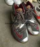 Uitvoer van de Schoenen van de tweede Hand en de Gebruikte van de Schoenen van de Sport Tennisschoenen naar Afrika (fcd-005)