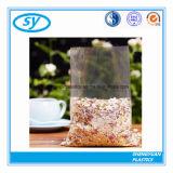 Мешок еды качества еды ясности плоского дна LDPE пластичный
