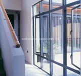 Portas de alumínio e Windows da aplicação moderna do projeto da engenharia
