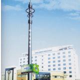 직류 전기를 통한 강철 단 하나 폴란드 원거리 통신 신호 탑