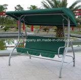 3 Seaterの屋外の家具の庭の振動椅子
