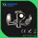 Plating Chrome Metal + Acrylic LED Ceiling Light