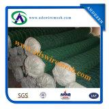 Загородка звена цепи нержавеющей стали PVC ISO 9001 Coated
