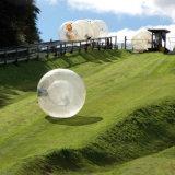 Interesante Entretenimiento agua transparente de PVC inflable bola Zorb Ball