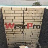 PRO piastrina di ceramica del rivestimento dell'allumina di usura, abrasione Liniers resistente