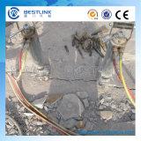 De Hydraulische Splitser van het diesel Pak van de Macht voor het Zandsteen en het Beton van het Graniet
