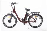 Rétro vélo avec la batterie au lithium électrique