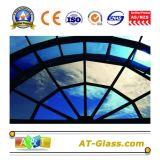 4mm、5mm、6mmはガラスを染めるか、またはフロートガラスをWindowsの建物のカーテン・ウォール、等のために使用されて染めた