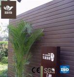 Pas de décoloration WPC pour l'extérieur du panneau de matériaux de construction