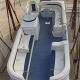 19FT/5.8m de Boot van het Ponton van het Aluminium/de Boot van de Catamaran