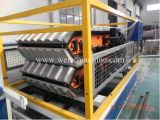 Esmaltada Teja de techo de PVC línea de extrusión / que hace la máquina