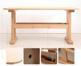 Mesa de comedor de madera maciza (M-X2178)