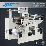 Auto/autocollant automatique de papier d'étiquette du rouleau de film trancheuse rembobineur Machine