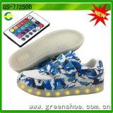 Novo fabricante de calçados LED com controle da APP Cool Light Shoes com controle remoto