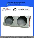 Evaporatore personalizzato della bobina dell'aletta del tubo di rame del frigorifero