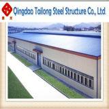 Entrepôt léger préfabriqué de structure métallique