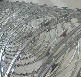 Колючая проволока бритвы верхней ранга выполненная на заказ