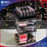 Organizzatore cosmetico acrilico della torretta del rossetto di Balck