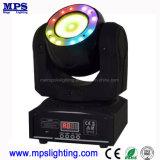 DJ Mini de iluminación LED 60W moviendo la cabeza y haz de luz de la etapa de lavado