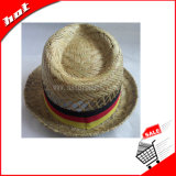 Red Hat Fedora полой Red Hat соломы, Rush Red Hat Red Hat Tribby соломы Солома Red Hat