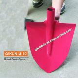 Круглой серой распыленный пластмассой лопаткоулавливатель сада M-05
