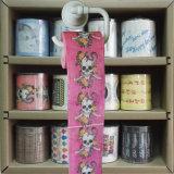 Cuarto de baño personalizadas rollos de tejido PEE toallitas de papel higiénico impreso