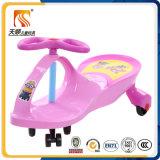 Passeio clássico dos brinquedos ao ar livre do bebê no carro da torção dos miúdos feito em China
