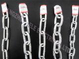 catena a maglia lunga galvanizzata 3mm della decorazione breve