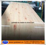 Feuille du modèle PPGI de configuration en bois de chêne dans la bobine