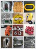 중국 제조자 훅과 아연에 의하여 도금되는 골무 삭구