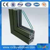 Profili di alluminio del grano di legno roccioso per Windows ed i portelli