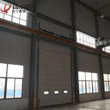 Portas interiores deslizantes aéreas verticais da garagem do congelador aéreo secional da segurança
