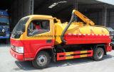 4000のL 4X2の糞便の吸引タンクトラック糞便の真空の吸引のトラック4トンの