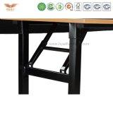 高品質の折るコンピュータの机のトレーニング表のまっすぐな机(T0255)