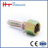 connecteur de pipe (de 22141 22191) ajustant l'embout de durites hydraulique pour le boyau en caoutchouc hydraulique